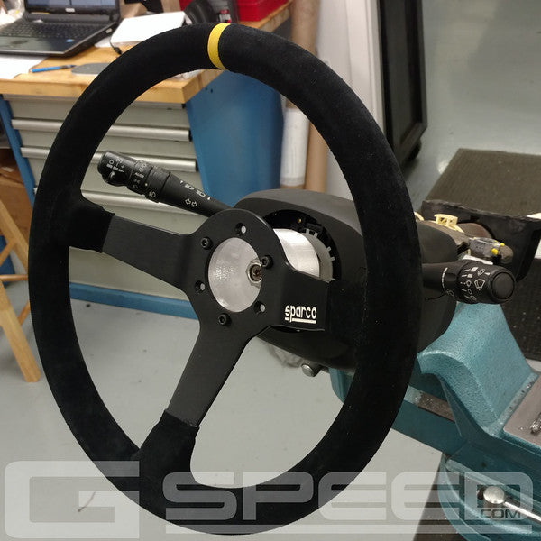 GSpeed C6 Corvette Steering Wheel Adapter