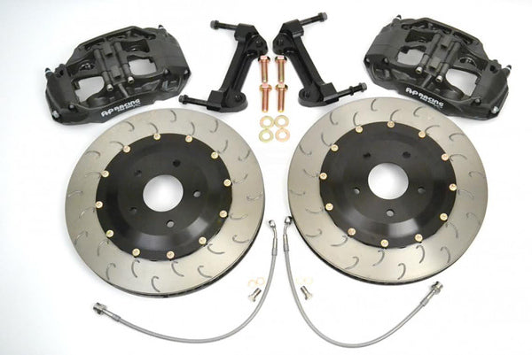 Essex Designed AP Racing Radi-CAL Competition Brake Kit (Front 9661/355mm)- Porsche 981 and 718 Boxster & Cayman