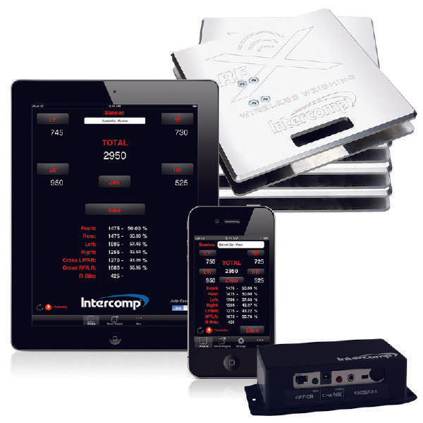 Intercomp SW656™ iRACEWEIGH™ SCALE SYSTEM