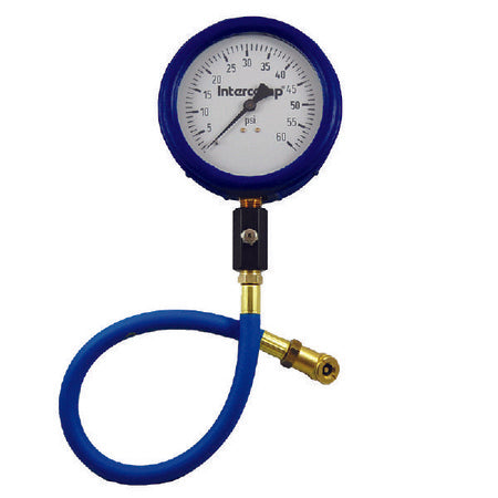 "4"" Ultra Deluxe 60PSI air pressure gauge"