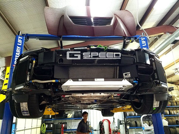 GSpeed Stage 0 Corvette Z06 Cooling package