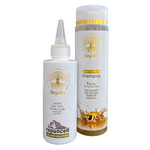 GOLDEN Dou Pack (shampoo and tonic for dry hair and dry scalp)