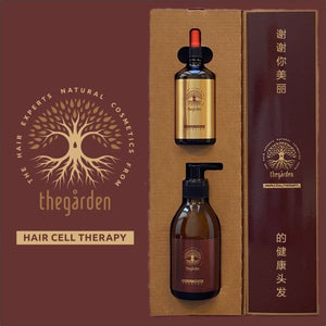 Hair Cell Therapy (shampoo and tonic for extra fast hair growth and against hair loss)