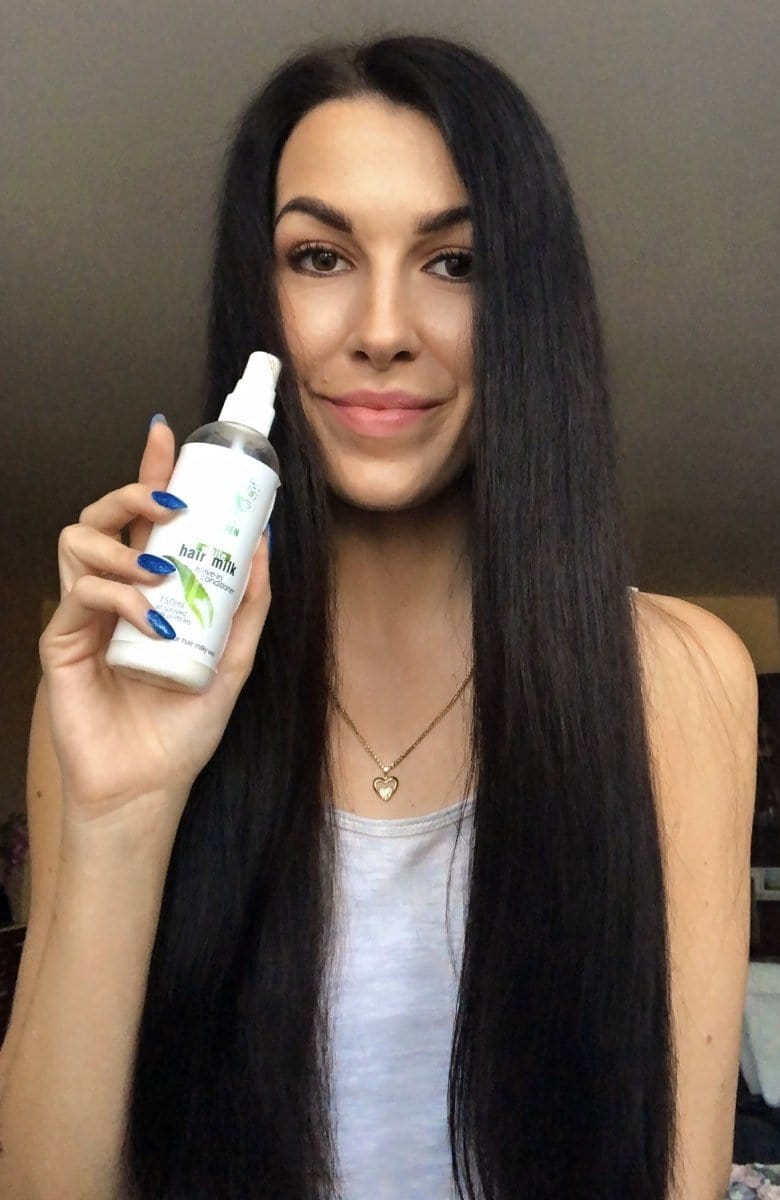 White Hair Milk- first aid for damaged oily, dry, fine and brittle hair