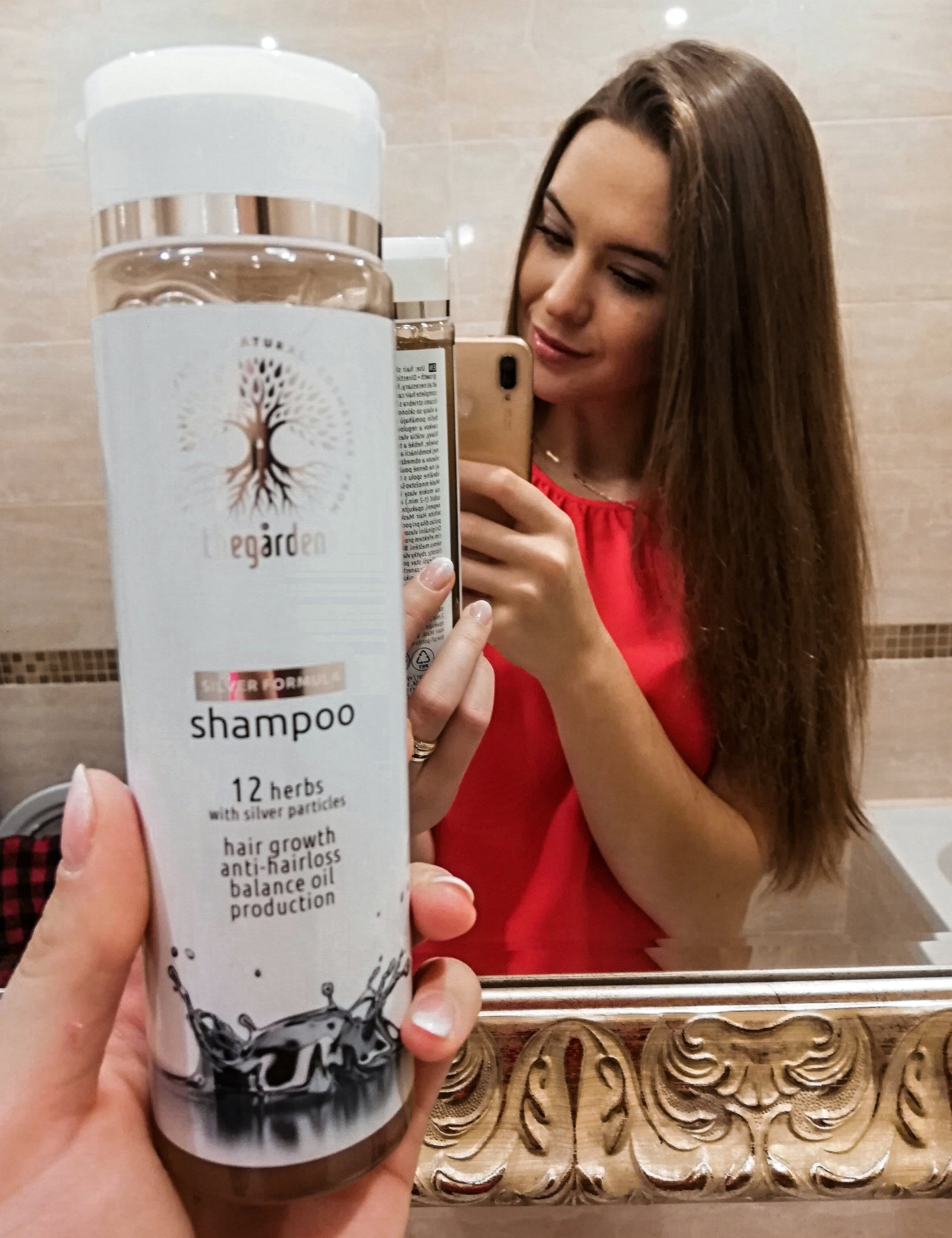 Silver Formula Shampoo (for oily or quickly oily scalp, hair that falls out and grows slowly)
