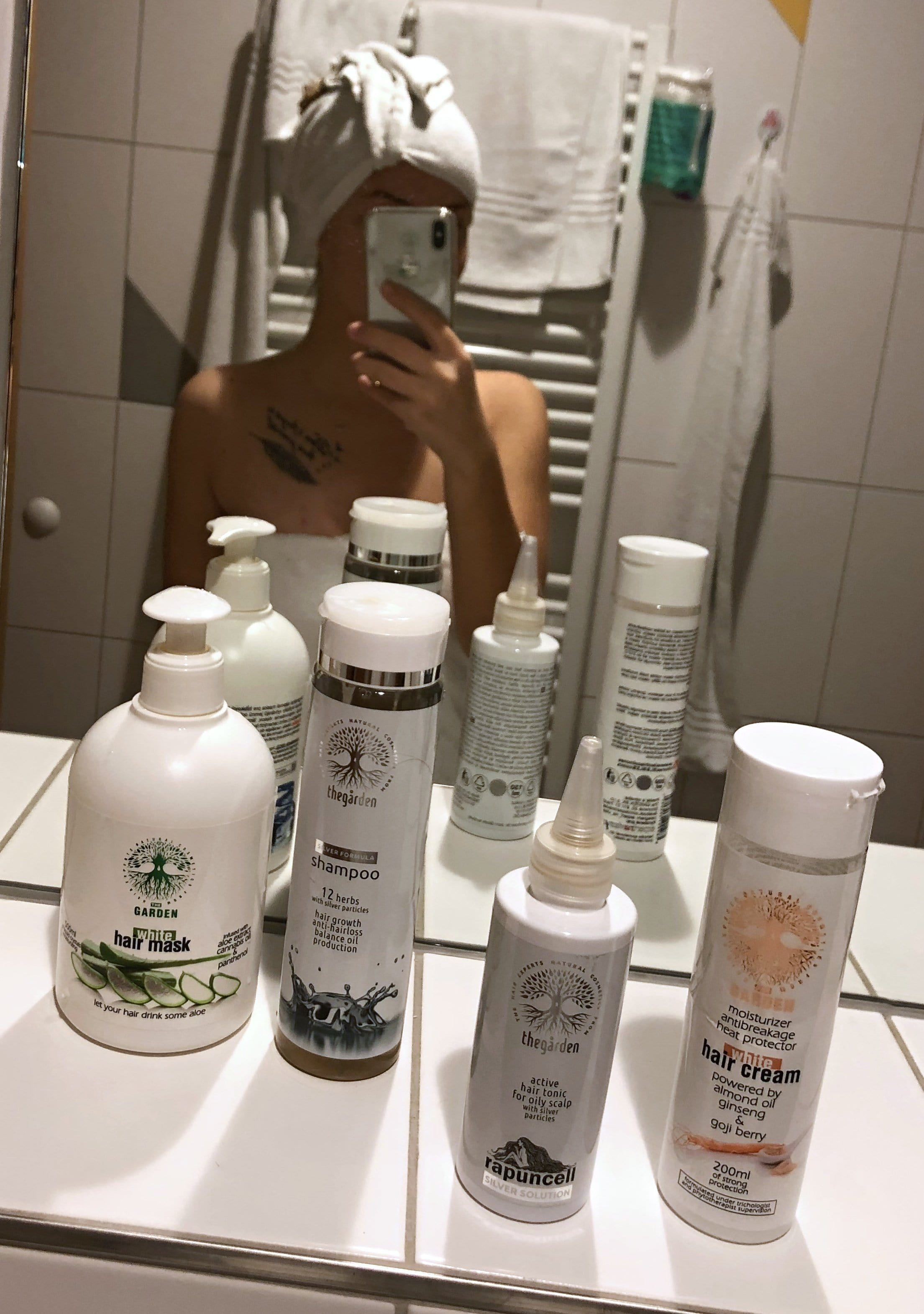 SILVER Pack (shampoo, tonic, mask for dry hair and quickly oily scalp)
