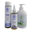 WHITE Pack (shampoo, tonic, mask for dry hair and normal scalp)