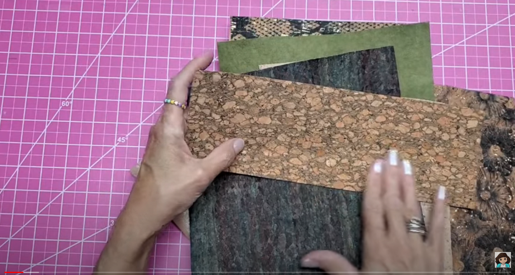 Lolly Palooza Shows How to Create Using Cork Fabric!