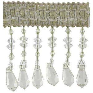 "Fascination Collection Beaded fringe --2 1/2"" width -BB-926-14"