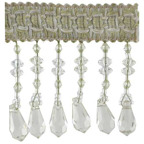 Fascination Collection Beaded fringe --2 1/2