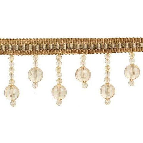 "Fascination Collection Beaded fringe --2 1/2"" width - BB-928-16/36"
