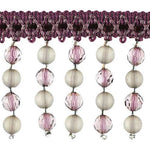 "Fascination Collection Beaded Fringe - 2 1/4"" width -BB-987-70"