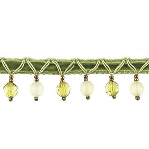 "Fantasia Collection Beaded Fringe -1"" width- BB-9900-63"