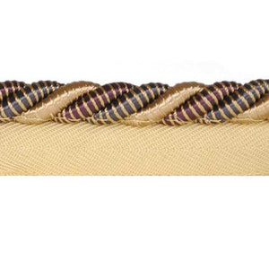 "Mulberry - 3/8"" CORD WITH LIP 25 Yard Roll - BC-10003-26-61"