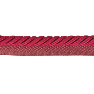 "Colors Collection 1/4""  Cord with Lip - Hot Pink"