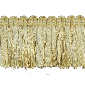 "Colors Collection 2"" Brush Fringe - Ivory-24"
