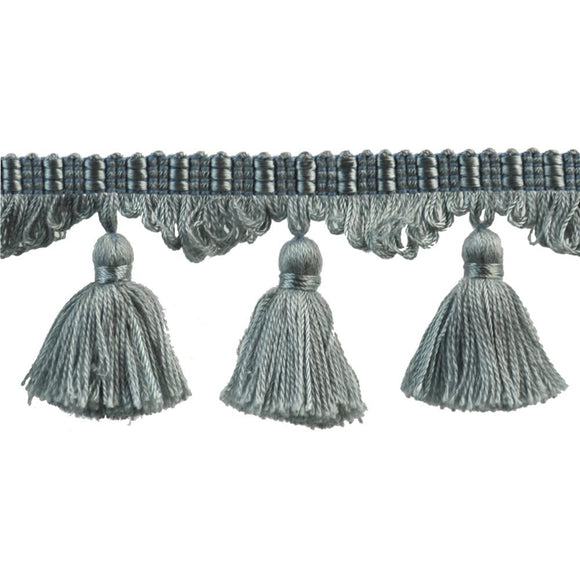 Colors Collection Tassel Fringe - Light Blue-03