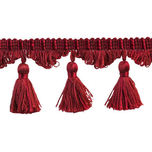 Colors Collection Tassel Fringe - Red-22