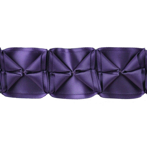 Box Pleated Ribbon-1 1/2
