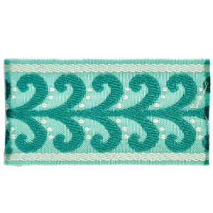 "Elegance Collection 2"" Braid - Turquoise and Mint"