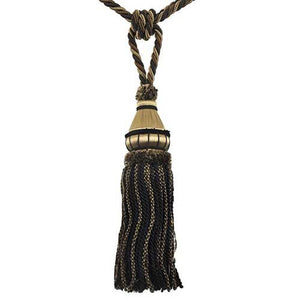 "Mulberry-12"" Length-SINGLE TASSEL TIEBACK-BT-6002-02-06"