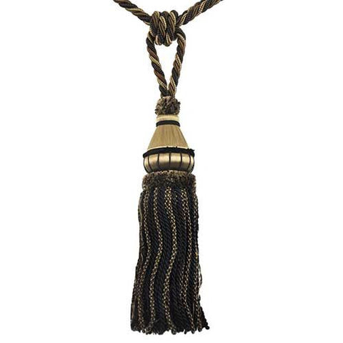 "Mulberry Collection-12"" Length-SINGLE TASSEL TIEBACK-BT-6002-02/06"