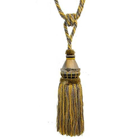 "Mulberry Collection-12"" Length-SINGLE TASSEL TIEBACK-BT-6002-11/10"