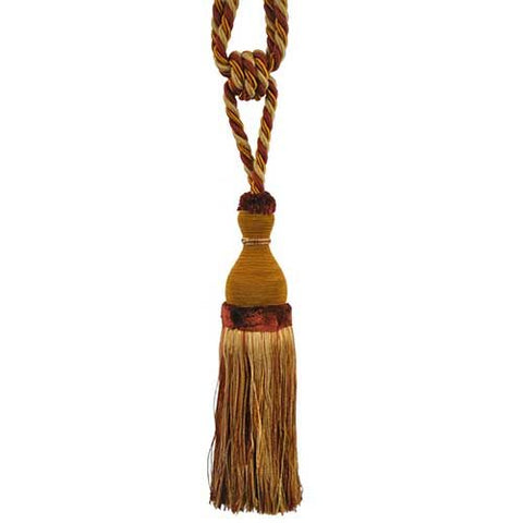 "Newport-10"" Length-SINGLE TASSEL TIEBACK-BT-6004-83-06"