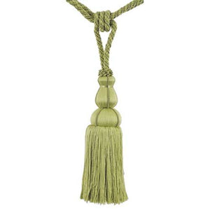 "Colors Collection - 10"" Length-SINGLE TASSEL TIEBACK-BT-6008-63"