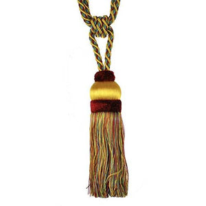 "Fairville-9"" Length-SINGLE TASSEL TIEBACK-BT-6011-04-17"