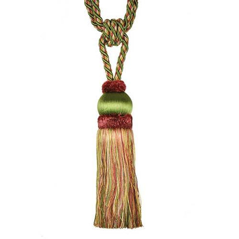 "Fairville-9"" Length-SINGLE TASSEL TIEBACK-BT-6011-08-63"