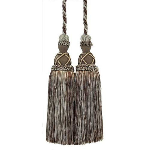 "Milante Collection - 11"" Length-DOUBLE TASSEL TIEBACK-BT-622-03/66"