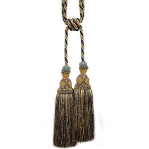 "Milante Collection - 11"" Length-DOUBLE TASSEL TIEBACK-BT-622-11/06"