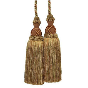 "Milante-11"" Length-DOUBLE TASSEL TIEBACK-BT-622-61-18"