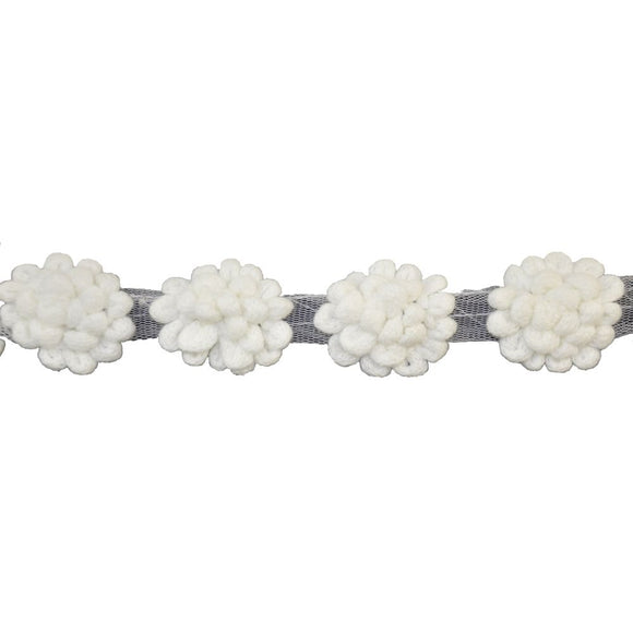 Crochet Flower Trim-BF-1360-27