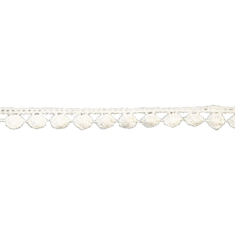 "Venise Cotton Lace Trim - 1/2"" wide - BF-1603 - Ivory"