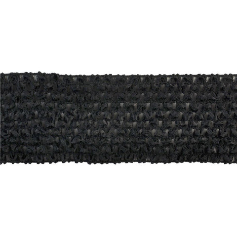 "Crochet Stretch Trim Collection - 3"" width - BF-1901-02"
