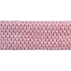 "Crochet Trim Collection of a 3"" width Crochet stretch banding- BF-1901-20"