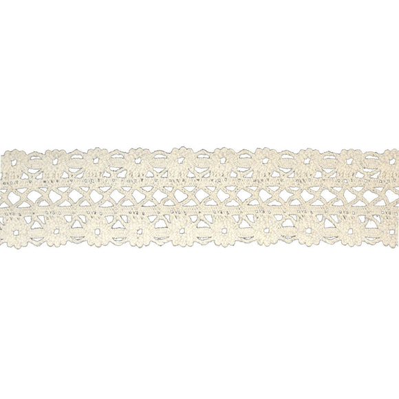 Cluny Cotton Lace Trim-BFC-500