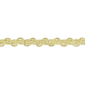 "Metallic Braid Trim - 5/8"" wide -BG-2005-10"