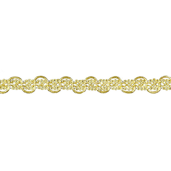 Metallic Braid Trim - 5/8
