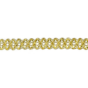 "Metallic Braid Trim - 3/4"" wide -BG-2007-10"