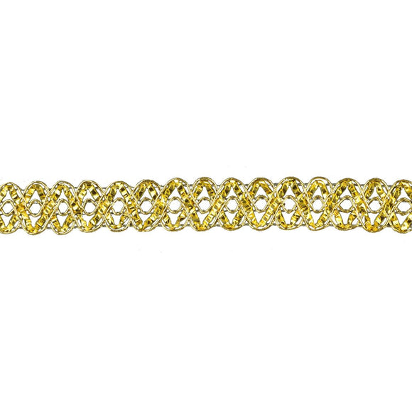 Metallic Braid Trim - 3/4