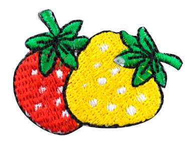 Assorted Applique (Strawberries, Yellow & Red) BM-5518