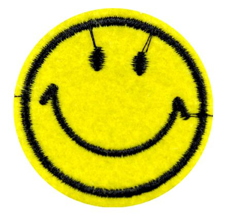 Assorted Applique Smiley Face - 12pc Pack BM-5519