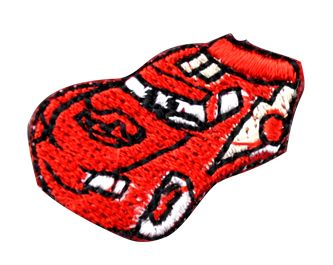 Assorted Applique (Red Car) BM-5523
