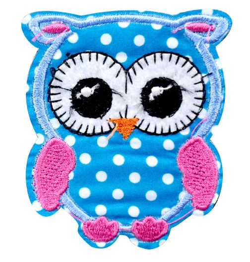 Assorted Applique (Owl) BM-5531