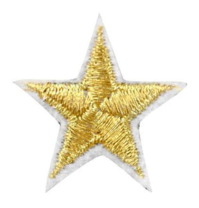 Assorted Applique (Small Gold Star) BM-5535