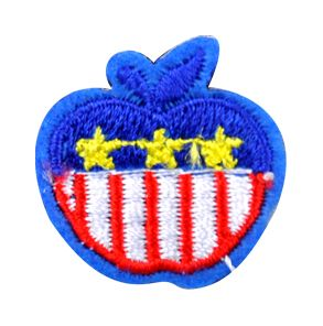 Assorted Applique (Apple with Stars and Stripes) BM-5536