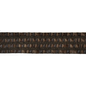 Faux Leather Woven Braid-BR-7186-66